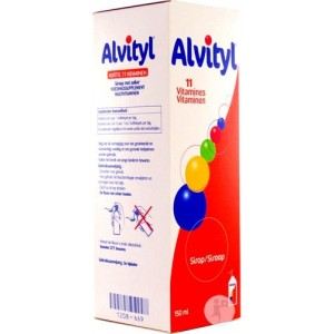 Alvityl - 11 vitamines - Sirop 150 ml