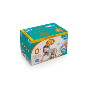 Couches Bébé - Baby Charm - Super Dry - Flex Junior - 11-25kg - Carton de 102