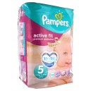 Pampers - Couches Bébé - Active Fit 5 - 11-25 kg - Age 5 - Paquet de 20