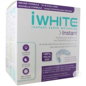 I White - instant - Kit de blanchiment Dentaire - 1 Kit 10 Gouttières